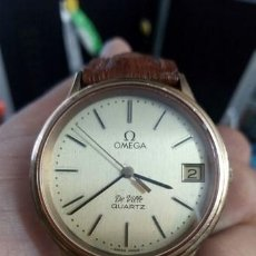 Relojes - Omega: RELOJ CABALLERO OMEGA ..DE VILLE.CAL.1332..SWISS MADE..CHAPADO EN ORO Y ESFERA DORADA..DAY. Lote 220501573