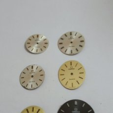 Relojes - Omega: SEIS ESFERAS OMEGA PARA RELOJ DE SEÑORA. Lote 222144608