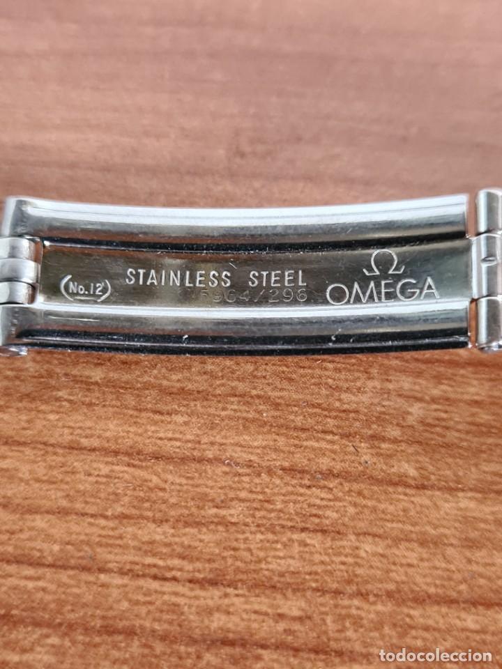 Relojes - Omega: Correa señora OMEGA de acero original Omega 16cm de largo, ancho 16mm y ancho asa 6,5 mm, 596 - 296. - Foto 3 - 224115826