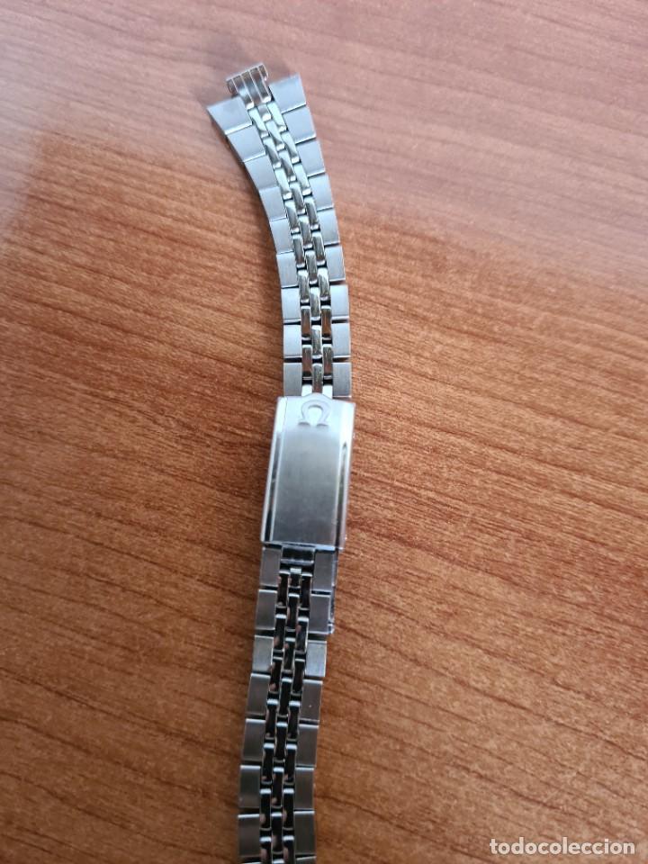 Relojes - Omega: Correa señora OMEGA de acero original Omega 16cm de largo, ancho 16mm y ancho asa 6,5 mm, 596 - 296. - Foto 4 - 224115826