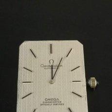 Relojes - Omega: ESFERA OMEGA CONSTELLATION COMPLETA Y SU MOVIMIENTO OMEGA 712 DE 24 JEWELLS FUNCIONANDO CON SU TIJA. Lote 287627073