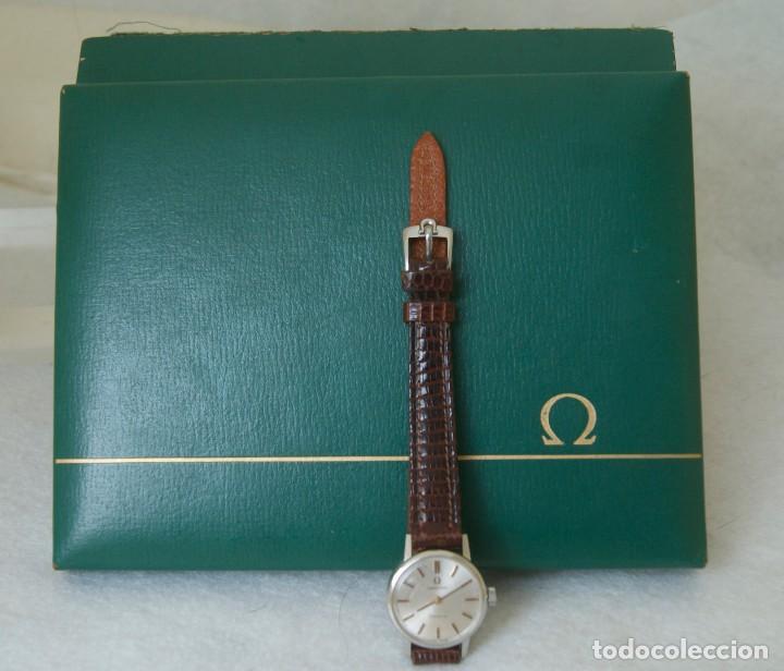 Relojes - Omega: OMEGA DE DAMA MECANICO ACERO TODO ORIGINAL FUNCIONANDO REVISADO CON CAJA OMEGA - Foto 2 - 230676895