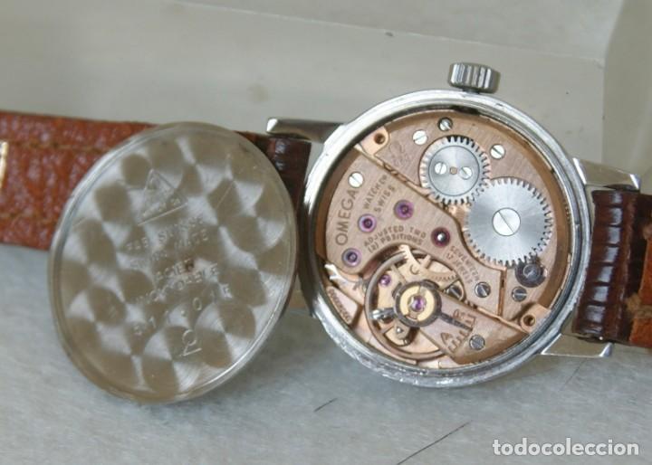 Relojes - Omega: OMEGA DE DAMA MECANICO ACERO TODO ORIGINAL FUNCIONANDO REVISADO CON CAJA OMEGA - Foto 9 - 230676895