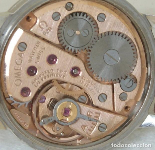Relojes - Omega: OMEGA DE DAMA MECANICO ACERO TODO ORIGINAL FUNCIONANDO REVISADO CON CAJA OMEGA - Foto 10 - 230676895