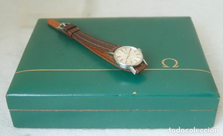 Relojes - Omega: OMEGA DE DAMA MECANICO ACERO TODO ORIGINAL FUNCIONANDO REVISADO CON CAJA OMEGA - Foto 17 - 230676895