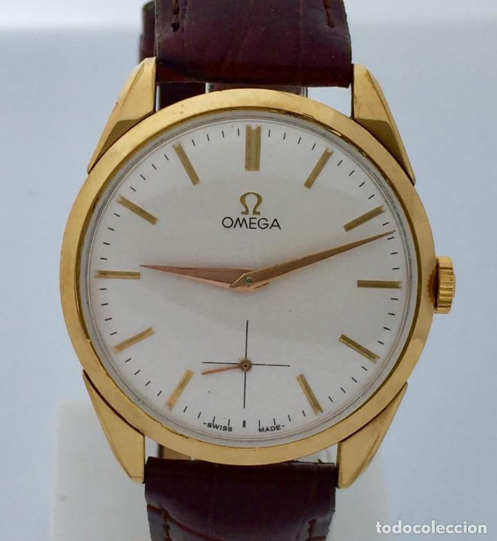 OMEGA PLAQUÉ ORO NUEVO (Relojes - Relojes Actuales - Omega)