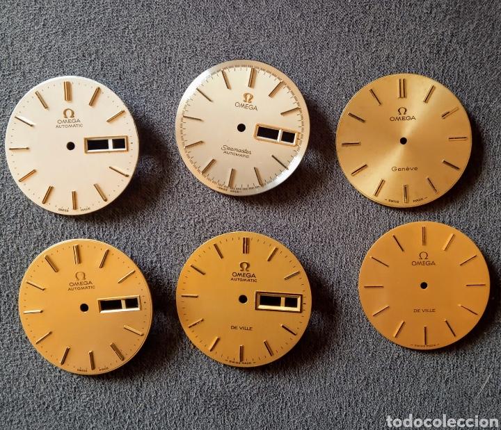 SEIS ESFERAS OMEGA PARA RELOJ DE CABALLERO (Relojes - Relojes Actuales - Omega)