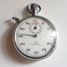 Relojes - Omega: RELOJ OMEGA DE BOLSILLO STOPWATCH CHRONOGRAF FUNCIONA BIEN .MIDE 51 MM DIAMETRO. Lote 234029440