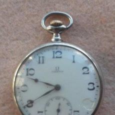 Relojes - Omega: RELOJ DE BOLSILLO ANTIGUO. MARCA OMEGA. FUNCIONANDO. Lote 234172890