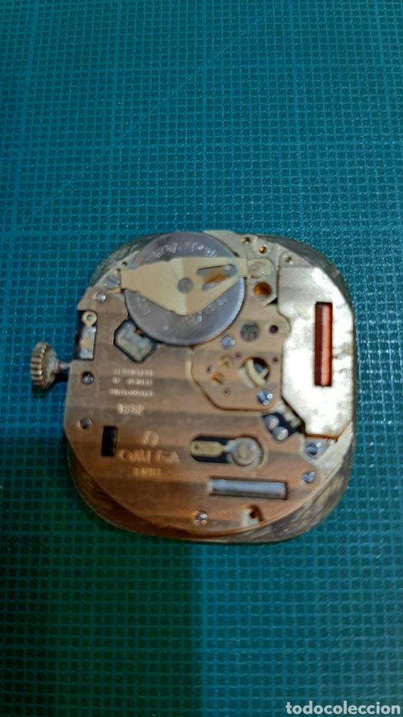 Relojes - Omega: OMEGA MÁQUINA RELOG ORO MODELO 1332 PILA FUNCIONANDO AJUSTAR AGUJAS ANTIGÜEDADES O ALMACÉN DO COLIS - Foto 3 - 234520920