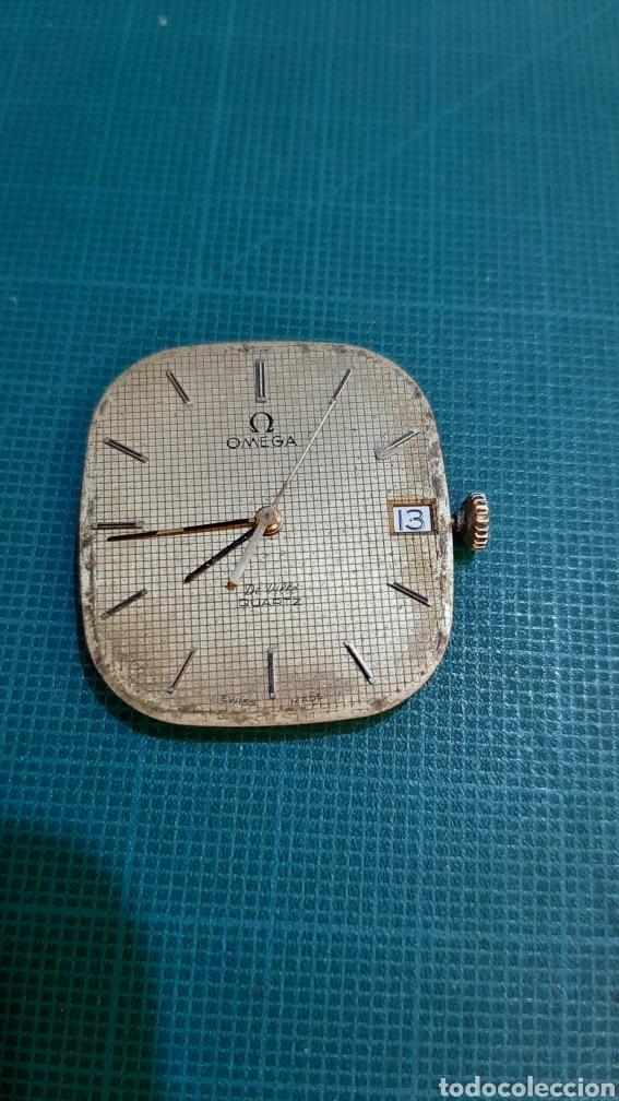 OMEGA MÁQUINA RELOG ORO MODELO 1332 PILA FUNCIONANDO AJUSTAR AGUJAS ANTIGÜEDADES O ALMACÉN DO COLIS (Relojes - Relojes Actuales - Omega)