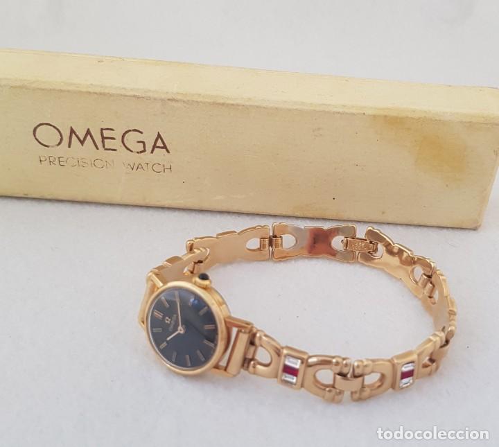 OMEGA MECANICO DE DAMA TIPO COCKTAIL REVISADO Y RESTAURADO 511.213 CON CAJA ORIGINAL (Relojes - Relojes Actuales - Omega)