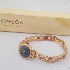 Relojes - Omega: OMEGA MECANICO DE DAMA TIPO COCKTAIL REVISADO Y RESTAURADO 511.213 CON CAJA ORIGINAL. Lote 234552075