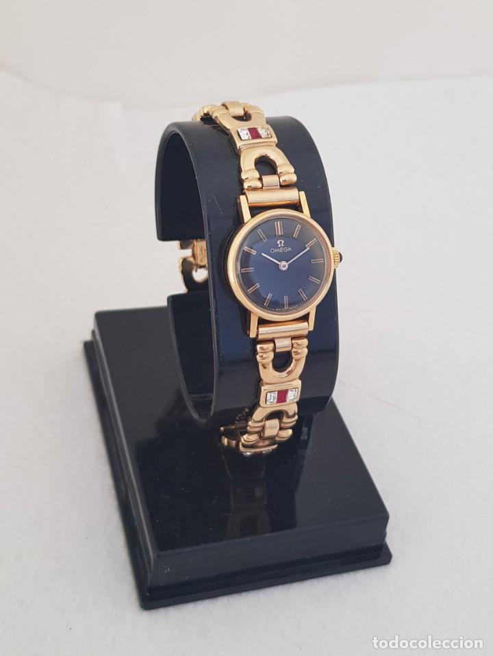 Relojes - Omega: OMEGA MECANICO DE DAMA TIPO COCKTAIL REVISADO Y RESTAURADO 511.213 CON CAJA ORIGINAL - Foto 3 - 234552075