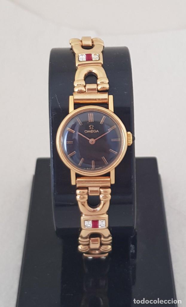 Relojes - Omega: OMEGA MECANICO DE DAMA TIPO COCKTAIL REVISADO Y RESTAURADO 511.213 CON CAJA ORIGINAL - Foto 4 - 234552075