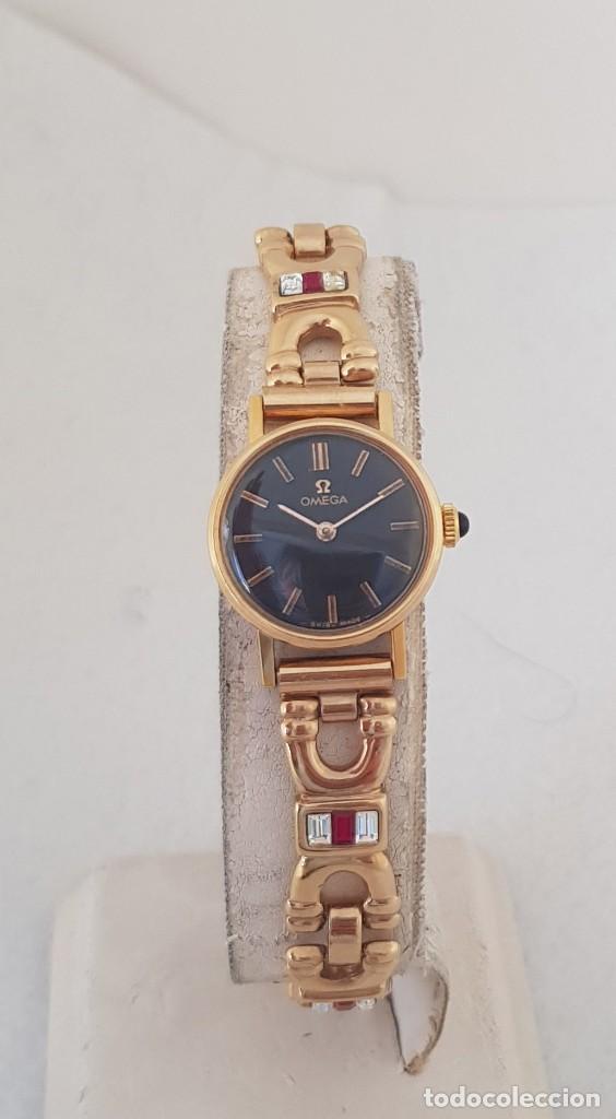 Relojes - Omega: OMEGA MECANICO DE DAMA TIPO COCKTAIL REVISADO Y RESTAURADO 511.213 CON CAJA ORIGINAL - Foto 5 - 234552075