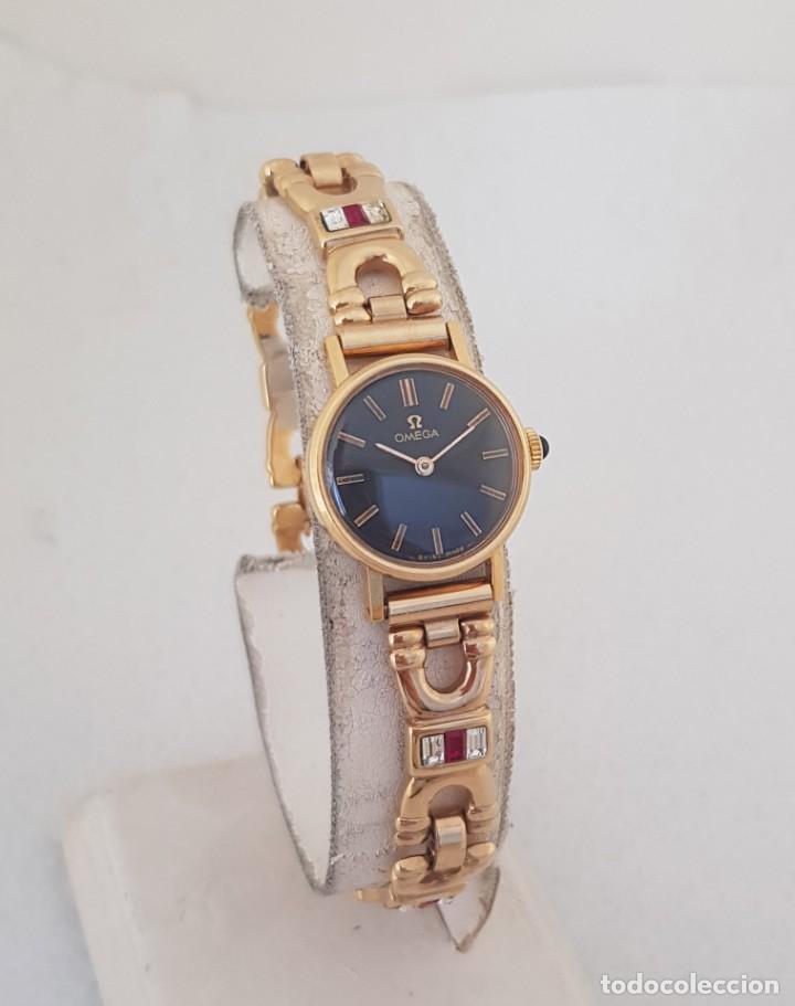 Relojes - Omega: OMEGA MECANICO DE DAMA TIPO COCKTAIL REVISADO Y RESTAURADO 511.213 CON CAJA ORIGINAL - Foto 7 - 234552075