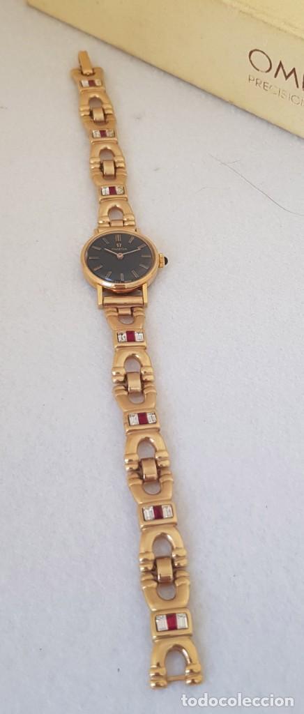Relojes - Omega: OMEGA MECANICO DE DAMA TIPO COCKTAIL REVISADO Y RESTAURADO 511.213 CON CAJA ORIGINAL - Foto 9 - 234552075