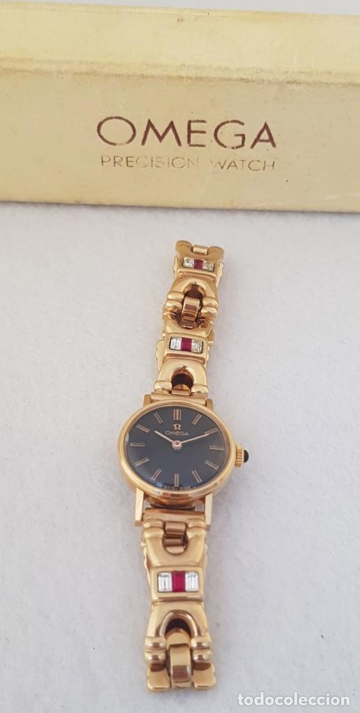 Relojes - Omega: OMEGA MECANICO DE DAMA TIPO COCKTAIL REVISADO Y RESTAURADO 511.213 CON CAJA ORIGINAL - Foto 10 - 234552075