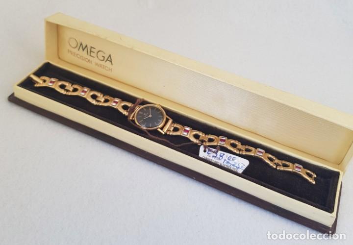 Relojes - Omega: OMEGA MECANICO DE DAMA TIPO COCKTAIL REVISADO Y RESTAURADO 511.213 CON CAJA ORIGINAL - Foto 11 - 234552075