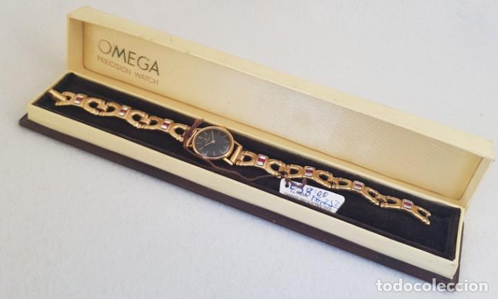 Relojes - Omega: OMEGA MECANICO DE DAMA TIPO COCKTAIL REVISADO Y RESTAURADO 511.213 CON CAJA ORIGINAL - Foto 12 - 234552075