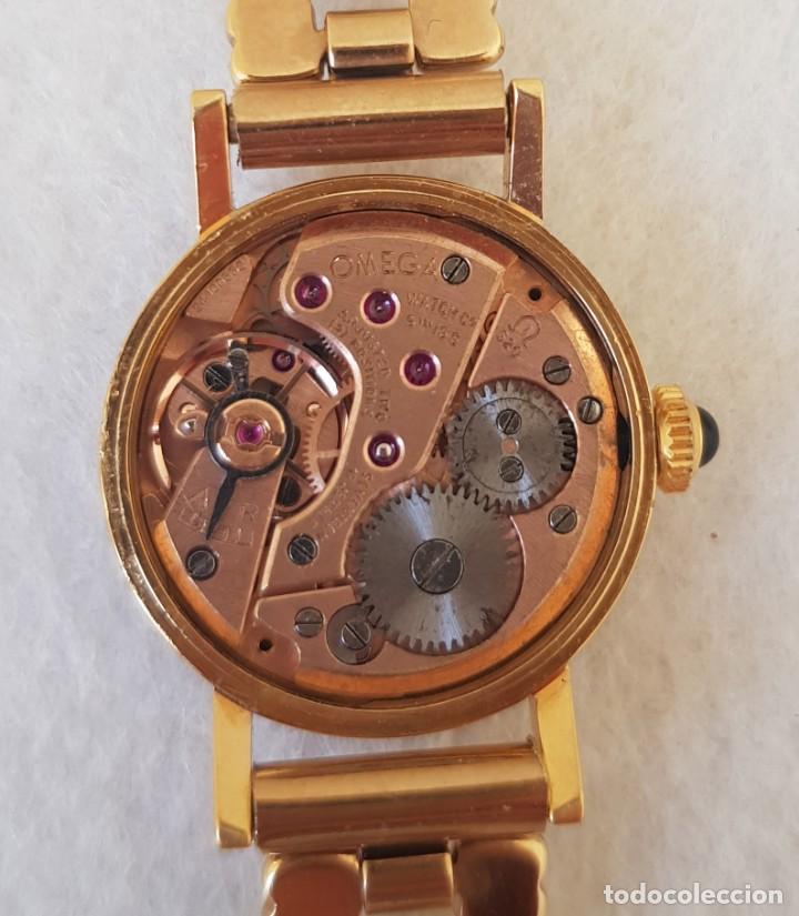 Relojes - Omega: OMEGA MECANICO DE DAMA TIPO COCKTAIL REVISADO Y RESTAURADO 511.213 CON CAJA ORIGINAL - Foto 18 - 234552075
