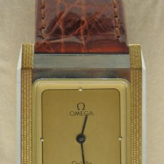 Relojes - Omega: RELOJ OMEGA CAJA DE ACERO Y ORO. UNISEX CASI NUEVO. ORIGINAL. Lote 235368090