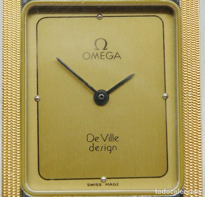 Relojes - Omega: RELOJ OMEGA CAJA DE ACERO Y ORO. UNISEX CASI NUEVO. ORIGINAL - Foto 3 - 235368090
