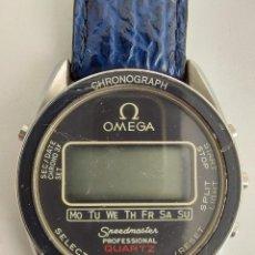 Relojes - Omega: ANTIGUO RELOJ OMEGA SPEEDMASTER PROFESSIONAL QUARTZ CRONOGRAPH LCD - 1860004 - ALASKA IV PROTOTIPO N. Lote 235574650