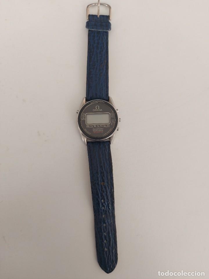 Relojes - Omega: RELOJ OMEGA SPEEDMASTER PROFESSIONAL QUARTZ CRONOGRAPH LCD - 1860004 - ALASKA IV PROTOTIPO NASA - FU - Foto 3 - 235574650