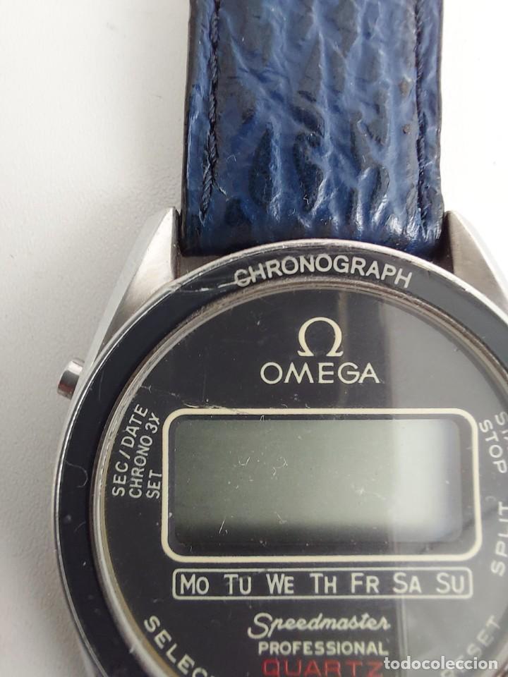 Relojes - Omega: RELOJ OMEGA SPEEDMASTER PROFESSIONAL QUARTZ CRONOGRAPH LCD - 1860004 - ALASKA IV PROTOTIPO NASA - FU - Foto 9 - 235574650