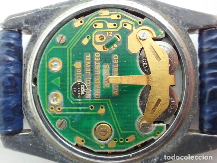Relojes - Omega: RELOJ OMEGA SPEEDMASTER PROFESSIONAL QUARTZ CRONOGRAPH LCD - 1860004 - ALASKA IV PROTOTIPO NASA - FU - Foto 14 - 235574650