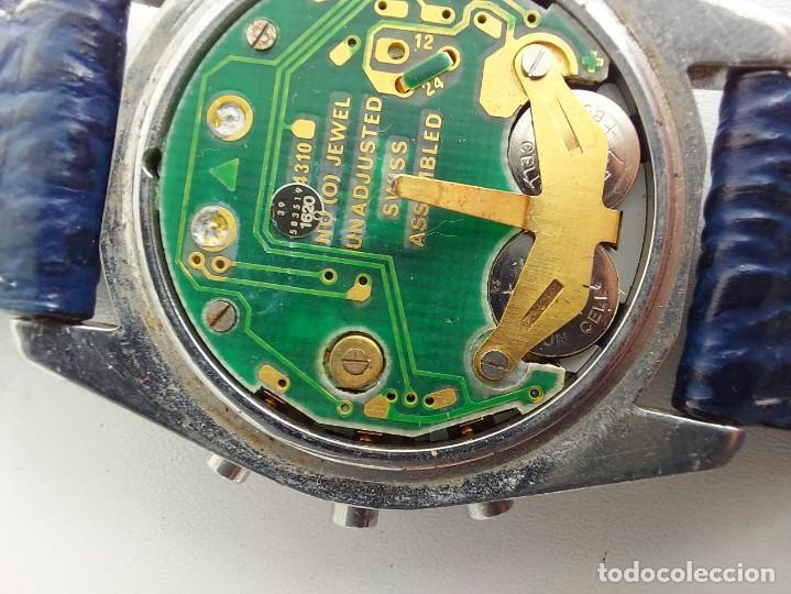 Relojes - Omega: RELOJ OMEGA SPEEDMASTER PROFESSIONAL QUARTZ CRONOGRAPH LCD - 1860004 - ALASKA IV PROTOTIPO NASA - FU - Foto 15 - 235574650
