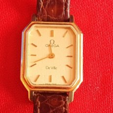 Relojes - Omega: RELOJ OMEGA DE VILLE CUARZO.MIDE 19MM DIAMETRO. Lote 236546950