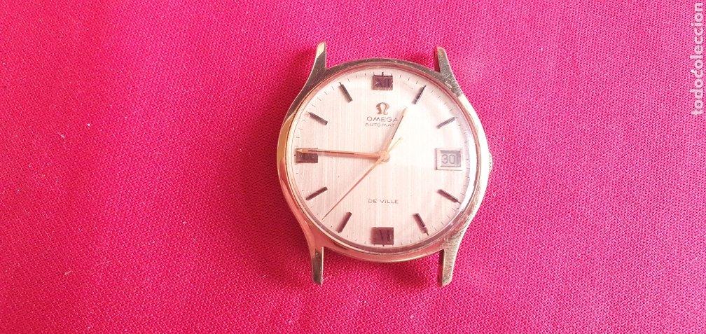RELOJ OMEGA DE VILLE AUTOMATICO FUNCIONA BIEN.MIDE 34MM DIAMETRO (Relojes - Relojes Actuales - Omega)