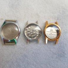 Relojes - Omega: LOTE DE 3 CAJAS ACERO Y CHAPADO OMEGA Y CYMA BUEN ESTADO. Lote 239426230