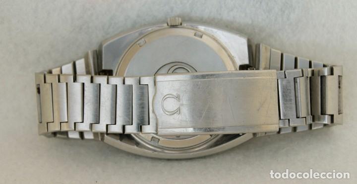 Relojes - Omega: RARO RELOJ OMEGA MEGAQUARTZ 32KHZ 196.0033 TODO ORIGINAL 39MM FUNCIONANDO JUMBO - Foto 7 - 239445495