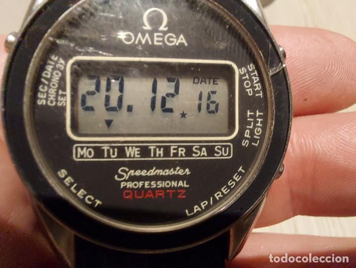 Relojes - Omega: RELOJ OMEGA SPEEDMASTER PROFESSIONAL QUARTZ CRONOGRAPH LCD - 1860004 - ALASKA IV PROTOTIPO NASA - FU - Foto 20 - 235574650