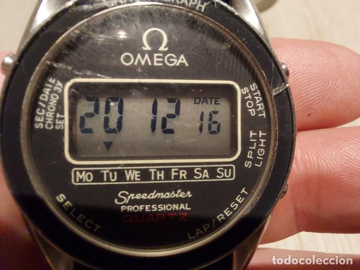 Relojes - Omega: RELOJ OMEGA SPEEDMASTER PROFESSIONAL QUARTZ CRONOGRAPH LCD - 1860004 - ALASKA IV PROTOTIPO NASA - FU - Foto 21 - 235574650