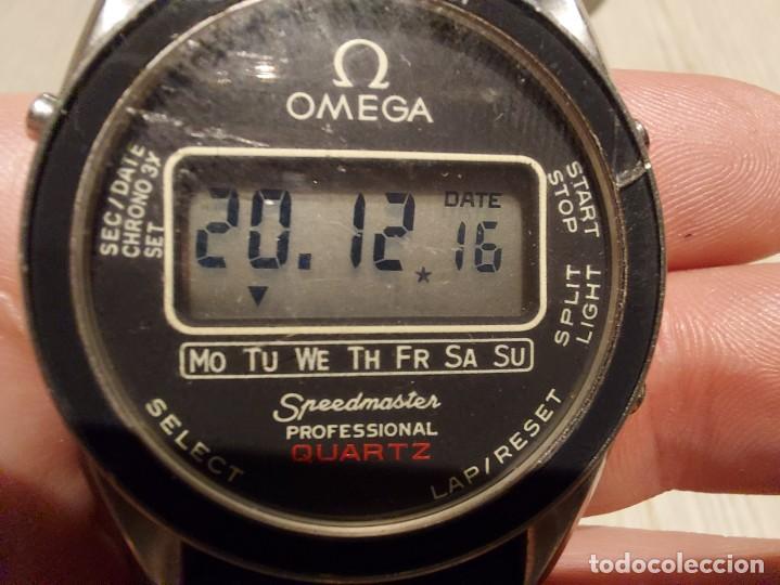 Relojes - Omega: RELOJ OMEGA SPEEDMASTER PROFESSIONAL QUARTZ CRONOGRAPH LCD - 1860004 - ALASKA IV PROTOTIPO NASA - FU - Foto 23 - 235574650