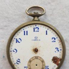 Relojes - Omega: OMEGA DE BOLSILLO PARA PIEZAS 45.6MM PROYECTO RESTAURACION. Lote 243021440