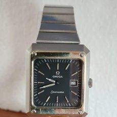 Relojes - Omega: RELOJ CABALLERO (VINTAGE OMEGA MARINER II ACERO Y BISEL DE ORO 14K, ESFERA NEGRA, CORREA ORIGINAL.. Lote 243431650
