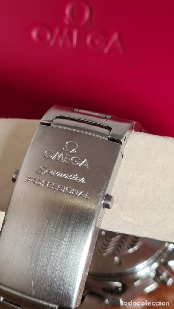 Relojes - Omega: Reloj caballero OMEGA Seamaster professional 300m, esfera negra, calendario, bisel giratorio. - Foto 14 - 243444865