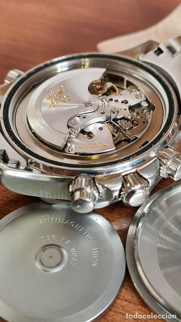 Relojes - Omega: Reloj caballero OMEGA Seamaster professional 300m, esfera negra, calendario, bisel giratorio. - Foto 20 - 243444865