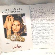 Relojes - Omega: OMEGA COLECCIÓN 2003 CON LISTA DE PRECIOS. Lote 249305530