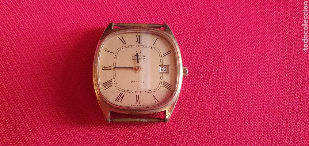 RELOJ OMEGA DE VILLE CUARZO FUNCIONA. MIDE 35 MM DIAMETRO (Relojes - Relojes Actuales - Omega)