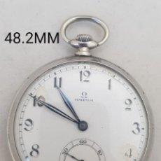 Relojes - Omega: OMEGA DE BOLSILLO FUNCIONANDO MANUFACTURA PROPIA CIRCA1935. Lote 254698730