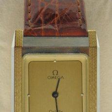 Relojes - Omega: RELOJ OMEGA CAJA DE ACERO Y ORO. UNISEX CASI NUEVO. ORIGINAL. Lote 255430175