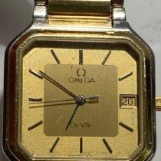 Relojes - Omega: RELOJ OMEGA DE VILLE ACERO Y ORO ESFERA CUADRADA ARMIS ORIGINAL. Lote 257298710