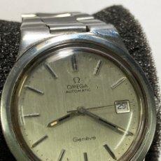 Relojes - Omega: RELOJ OMEGA GENEVE AUTOMATIC ACERO COMPLETO TODO ORIGINAL EN FUNCIONAMIENTO. Lote 257715165